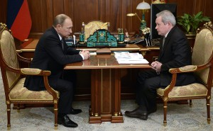 Владимир Путин и Виктор Басаргин