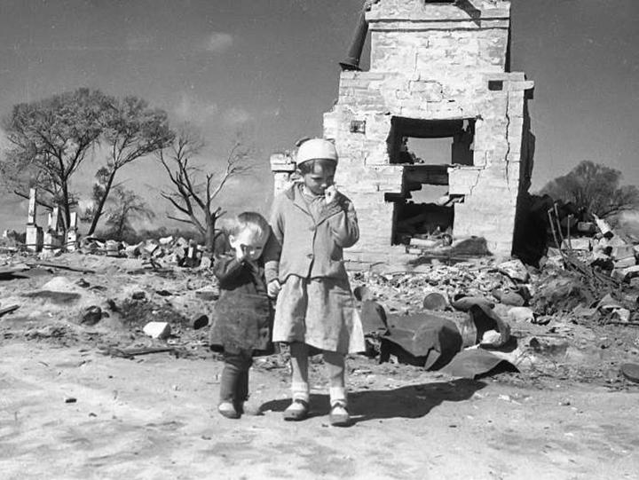 «Дети войны. Они в неё не играли. Они в ней жили»